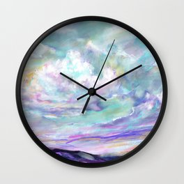 Head in the clouds 1 Wall Clock