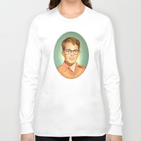 charlie Long Sleeve T-shirts featuring Charlie by HeatherAckley