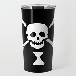 Emanuel Wynne Pirate Flag Jolly Roger Travel Mug