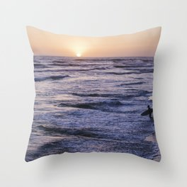Take to the S E A Throw Pillow