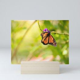 Butterfly Garden Mini Art Print