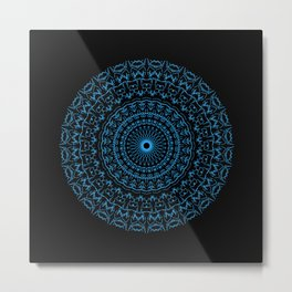 Sacred Geometry Art Print 'Partnership' Metal Print