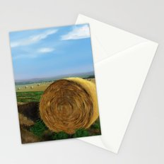 balla di fieno Stationery Cards