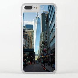 Downtown Giant Clear iPhone Case