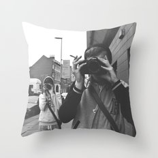 I'm Watching You. Throw Pillow