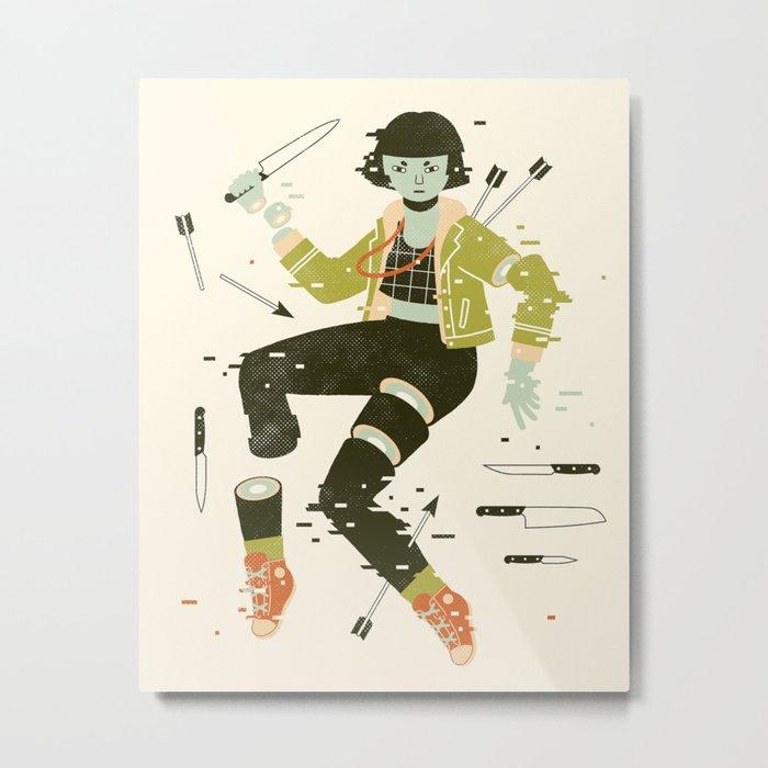 To Pieces Metal Print