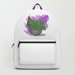 Water Color Butterfly Backpack