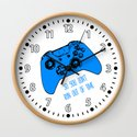 Video Game White and Blue by ts55