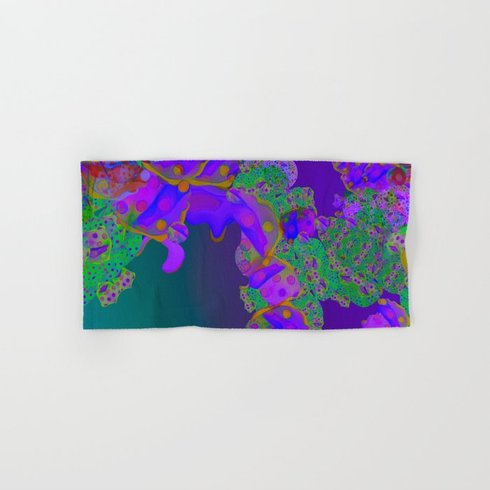 """""""Be yourself (Pop Fantasy Colorful Pattern 02)"""" Hand & Bath Towel"""