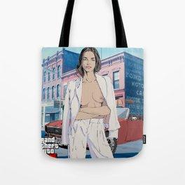 Stylish Girl Tote Bag