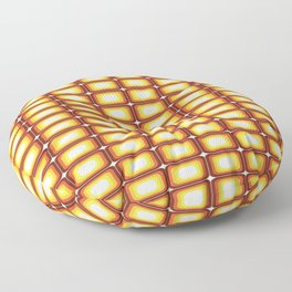 That 70's Look Seventies Inspired Squares Floor Pillow