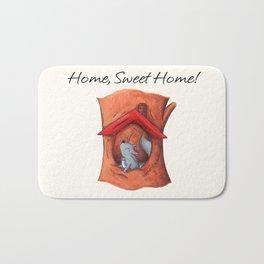 Home Sweet Tree Bath Mat
