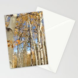 Autumn Aspens Stationery Cards