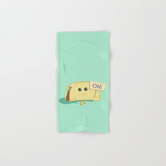 Happy Taco, Olé Hand & Bath Towel