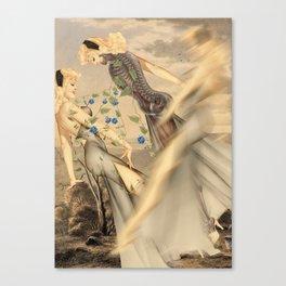 Shift *collage Canvas Print