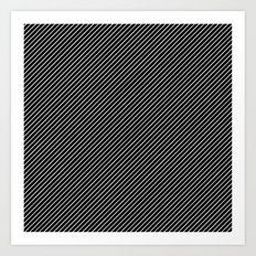 Dia Lines Art Print