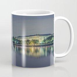 Washington Memorial from the Jefferson Memorial Site Coffee Mug