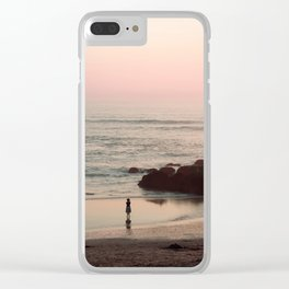 she is water Clear iPhone Case