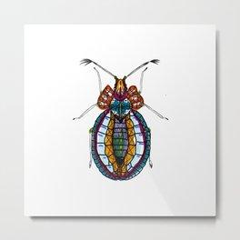 Bejeweley Beetle - Africa Metal Print