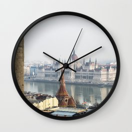The Parliament Building. Wall Clock