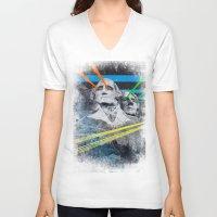 rushmore V-neck T-shirts featuring Mt Rushmore, Yo by Dan Howard