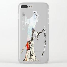 Burn Barrel Clear iPhone Case