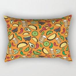 Taco Time Fiesta Rectangular Pillow