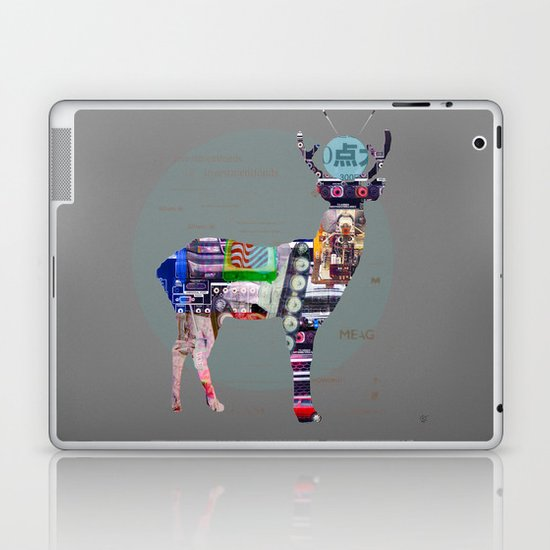 Deer Electric Laptop & iPad Skin