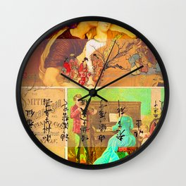 THE SMITH AMERICAN ORGAN AND PIANO CO. Wall Clock