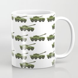 tank pattern Coffee Mug