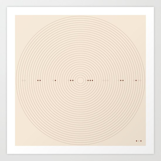 Alignment  Art Print