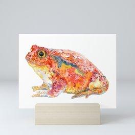 Tomato Frog Mini Art Print