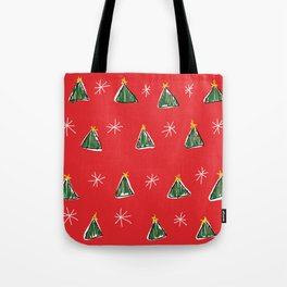 Ugly Christmas Trees Tote Bag