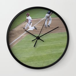 Home Opener 2 Wall Clock