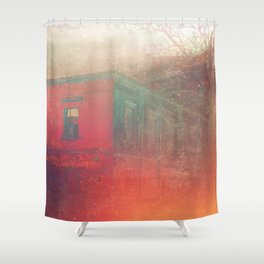 Hollowed Relic Shower Curtain