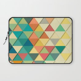 Triangular Abstract Background 1 Laptop Sleeve