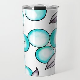 Abstract clementines Travel Mug