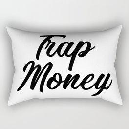 Trap Money Rectangular Pillow