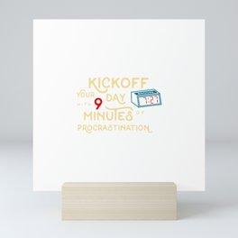 Carpe Snooze Mini Art Print