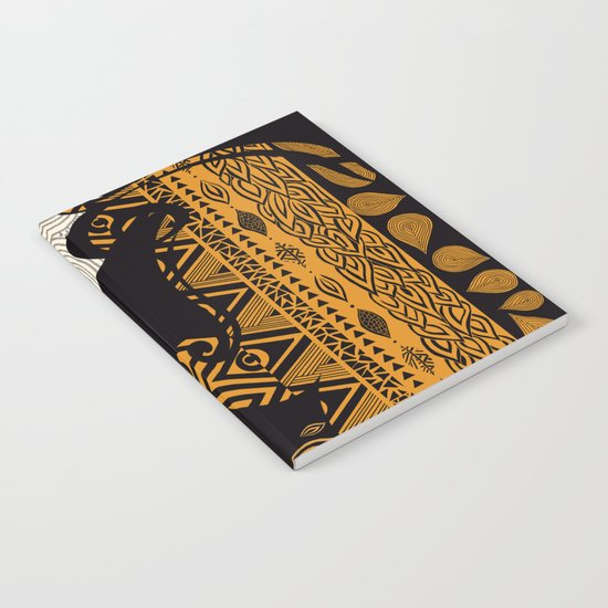 Tribal Dreams by Pom Graphic Design & Viviana Gonzalez Notebook