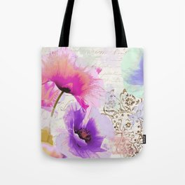 Poppies and Paint I Tote Bag