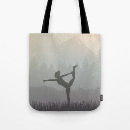 Morning Yoga Tote Bag