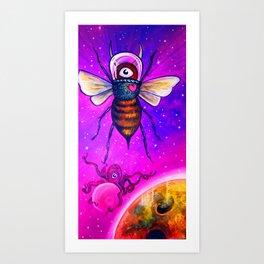 Victoria's Space BEE No. 1 Art Print