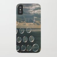 typo iPhone & iPod Cases featuring typo by Richard PJ Lambert