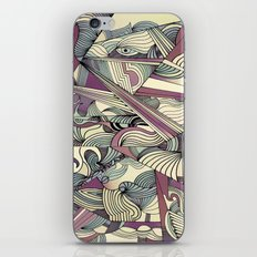 When my Mind Goes Boom. iPhone & iPod Skin