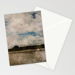 Windy Beach Day Stationery Cards