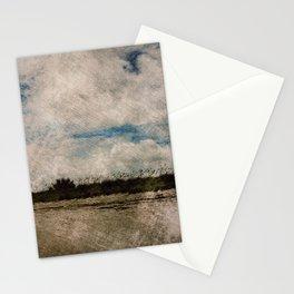 Windy Beach Day Stationery Cards