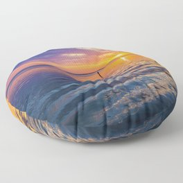Gulf Coast Colors Floor Pillow