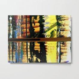 Easel Abstract 7 Metal Print