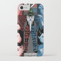 n7 iPhone & iPod Cases featuring N7: The Female Squad by Alex Rodway Illustration